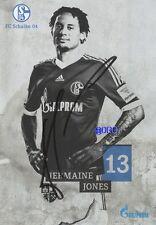 Jermaine JONES + FC Schalke 04 + Saison 2013/2014 + Original Autogrammkarte
