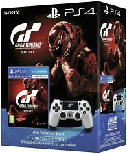 BUNDLE CONTROLLER SONY V2 GT SPORT LIMITED WIRELESS PS4 DUALSHOCK 4 + GT SPORT 7