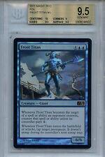 MTG Frost Titan BGS 9.5 Gem Mt MTG 2012 Mystic Foil Magic Card Amricons 8502