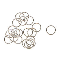 20x 925 Sterling Silver Open Jump Ring Connector Jewelry Making Findings 6mm