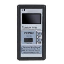 LCD Transistor Tester Cap LCR ESR Meter Diode Triode MOS NPN PNP w/ Case US T4A1