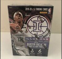 2019-20 PANINI ILLUSIONS NBA BASKETBALL BLASTER BOX SEALED ZION MORANT