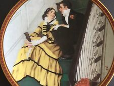 Norman Rockwell Treasured Memories Tender Romance Knowles Collector Plates 1991