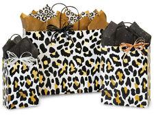 GOLDEN LEOPARD Design Party Gift Paper Bag ONLY Choose Size & Pack Amount