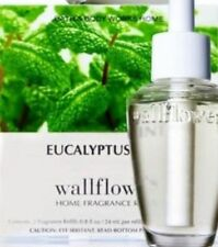 Bath & Body Works Eucalyptus Mint Wallflowers 2-Pack Refills ~ 5 Packs/10 Bulbs