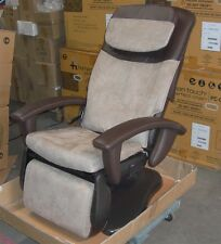 HT-100 Human Touch Robotic Massage Chair Recliner Brown