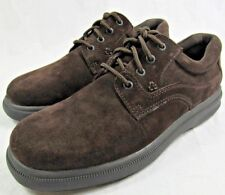 Hush Puppies Men's Glen Oxford Dress Shoes -Brown Suede- SIZE 11.5 - NEW in Box