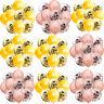 10x Happy Birthday Confetti Balloons 18/21st/30/40/50/60/70/80/90th Party Decor