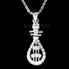 Chinese Traditional PIPA Music made with Swarovski Crystal New Year Necklace New