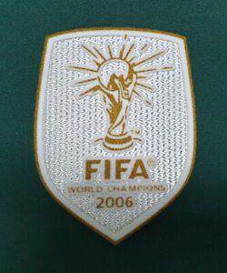 FIFA World Cup South Africa 2010 Italy jersey world champion Patch Badge 2006