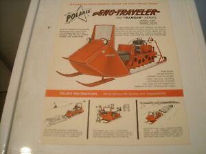 1964 Vintage POLARIS Ranger Snowmobile Dealer Brochure