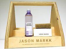 Jason Markk 8oz Premium Cleaner + Premium Brush Cleans up to 200 pairs NEW