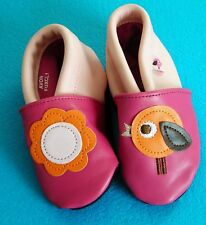 Tiny Tillia by Avon Soft Shell Shoes Pink 12 - 18  Months New in Packet