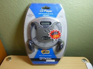 Vextra Portable CD Player w/ Car Kit Bass Boost 45-second anti-shock VX3974 New