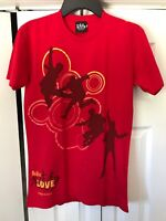 The Beatles Love Cirque Du Soleil T-shirt Red Size Small