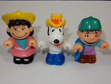 "United Features Syndicate 1966 Peanuts 3"" Pvc Figures"