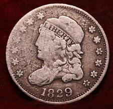 1829 Philadelphia Mint Silver Capped Bust Half Dime