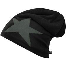 Brandit Beanie Cap Star Hiver Tricot Chaud Sécurité Patrouille Chapeau Noir