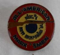 Vintage New Hampshire All American Mark ' Smen 1984 District #6 Pin Pinback