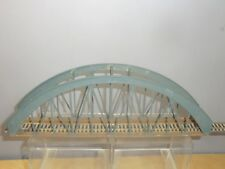 "MAKER UNKNOWN "" KIT BUILT "" MODEL   ARCH GIRDER  BRIDGE"