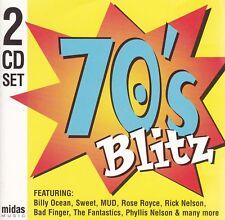 SEVENTIES 70's BLITZ Various - 2 CD