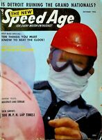 Speed Age Magazine October 1956 Maserati Ferrari Tommy Hinnershitz