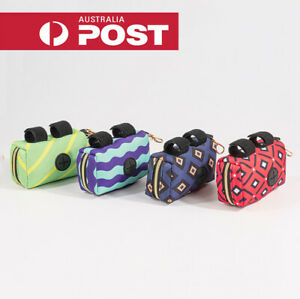 Pet Pouch Dog Poop Bag Container Dispenser Puppy Pick-Up Poo Waste Bags Holder