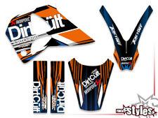 KTM GS EGS lc4 400 620 625 640 -97 pegatinas decoración decal kit Grafiche Graphique
