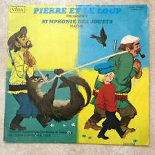 """33T PIERRE & LE LOUP Prokofiev SYMPHONIE D JOUETS Haydn Vinyle LP 12"""" VEGA 16060"""