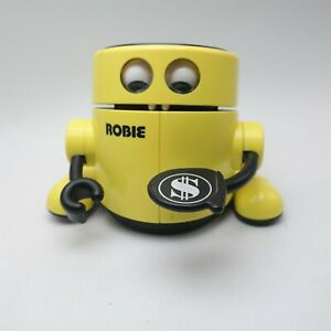 Vtg ROBIE Robot Bank Works Great Radio Shack Nice