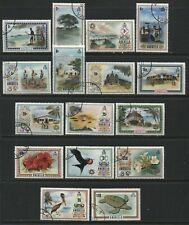 Anguilla 1972 complete definitive set used