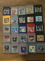 Nintendo GameBoy Complete Fun Pick & Choose Video Games Lot