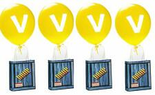 Favor bolsas Gota De Juegos Fiesta provisiones Globos De Cumpleaños incluye cadena 14 Pack