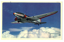 1945 AA American Airlines Issued Douglas NC17334  Postcard
