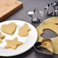 10 Pièces de Cuisine DIY Noël Cookie Emporte Pièce Biscuit Moule Gâteau Décor