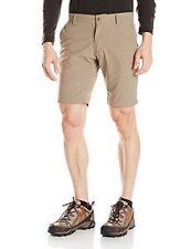 NEW Craghoppers Men's Nosilife Simba Outdoor Shorts, Pebble Tan Khaki, Size 34