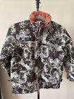 Geoffrey's Boy's  Medium Winter Camo Jacket Wind/Water Resistant Snow M 8-10