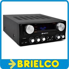 AMPLIFICADOR DE SONIDO KARAOKE ESTEREO 2X50W MP3 DISPLAY MANDO DISTANCIA BD10813