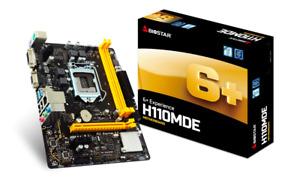 BIOSTAR H110MDE motherboard M-ATX - 7th & 6th Gen Intel