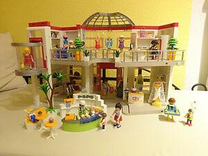 Playmobil 5485 Shopping-Center Einkaufszentrum mit Einrichtung