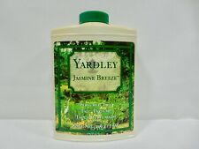 YARDLEY JASMINE BREEZE PERFUMED TALCUM POWDER 7 OZ *VINTAGE* RARE ITEM