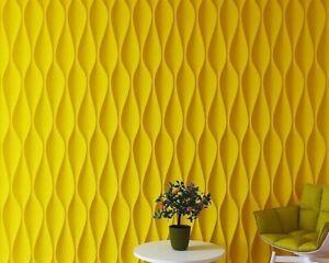 Dunes 3D Decorative Wall Panel ABS Plastic Mould Mold Plaster Gypsum DIY Tile