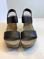 Pierre Dumas Women's Hester-1 Wedge Sandal, Size 6M, New