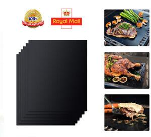 3x Heavy Duty (40x33) OVEN LINER Sheet Mat Non Stick Reusable BBQ Cooker UK