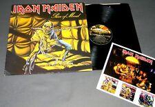 IRON MAIDEN - PIECE OF MIND (UK ORIGINAL 1st. PRESS A1/B1) LP
