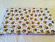 Handmade flannel pet blanket, puppies
