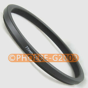 77mm-72mm 77-72 Step Down Filter Ring Stepping Adapter