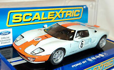 Scalextric C3324 Ford GT Heritage  Gulf Livery  2012 USA Exclusive 1/32 Slot Car