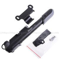 Giyo Cycling Bike Mini Pump Gauge Portable Reinforced Pump Schrader&Presta Value