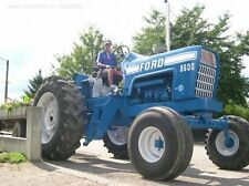 Ford 8000 8600 9000 Tractors Operator's Manual Owners Operator OP Manuals ON CD